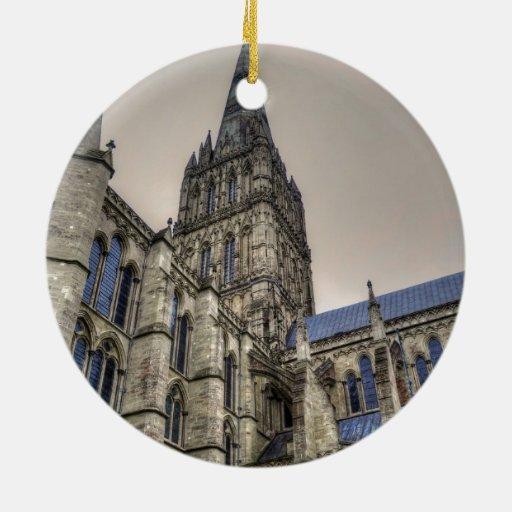 Catedral y chapitel Wiltshire Inglaterra de Salisb Ornatos