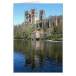 Catedral y molino de Durham Tarjeta