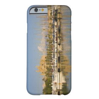 Catedral y puerto deportivo, Palma, Mallorca, Funda Para iPhone 6 Barely There
