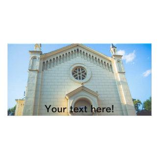 Catedrala Sf. Iosif, Sighisoara Personalized Photo Card