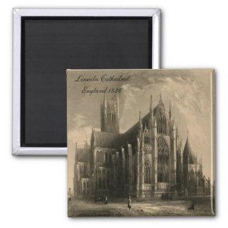 Catedrales de Inglaterra: Imán 1836 de Lincoln