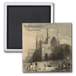 Catedrales de Inglaterra: Imán 1836 de Rochester