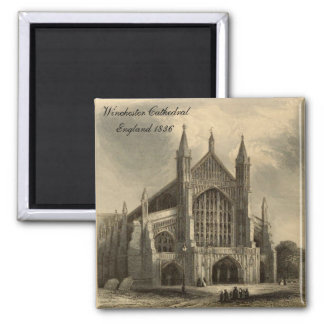 Catedrales de Inglaterra: Imán 1836 de Winchester