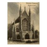 Catedrales de las series de Inglaterra: Winchester Tarjeta Postal