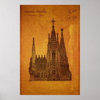 Catedrales: Sagrada Fam�lia, Barcelona Impresiones