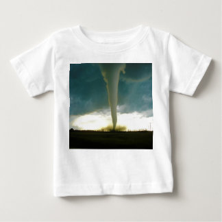 Category F5 Tornado Approaching Elie Manitoba Baby T-Shirt