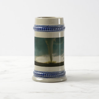 Category F5 Tornado Approaching Elie Manitoba Beer Stein