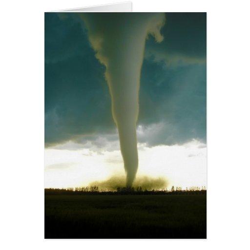 Category 5 Tornado : Category f tornado approaching elie manitoba card zazzle