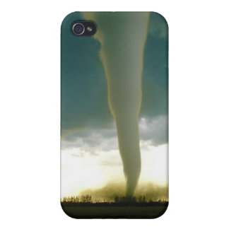 Category F5 Tornado Approaching Elie Manitoba iPhone 4/4S Cases