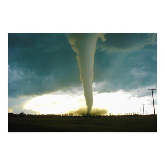 Category F5 Tornado Approaching Elie Manitoba Photo Print
