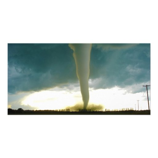 Category F5 Tornado Approaching Elie Manitoba Photo Card