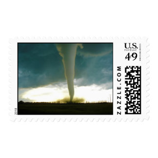 Category F5 Tornado Approaching Elie Manitoba Postage