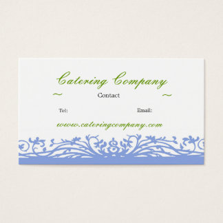 Cater or Party Company Business Card