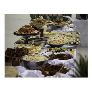 Catered Foods Postcard
