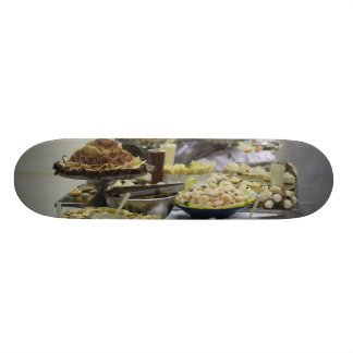 Catered Foods Skate Board
