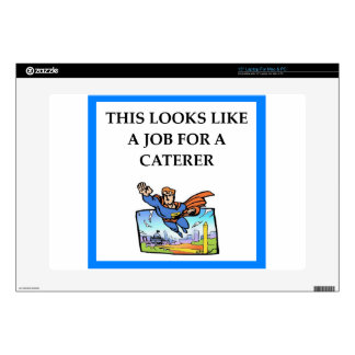 "CATERER 15"" LAPTOP DECAL"