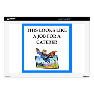 "CATERER 17"" LAPTOP DECAL"