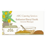 Caterer Culinary Chef Business Card