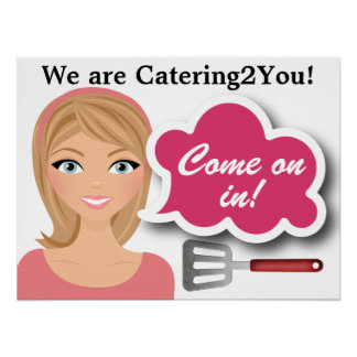 Caterer - Store Poster