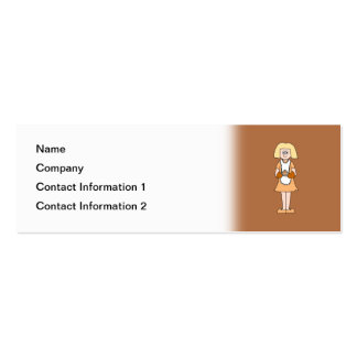 Caterer with Hot Soup. Business Card Template