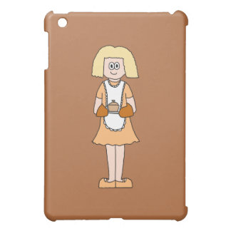 Caterer with Hot Soup. iPad Mini Cover