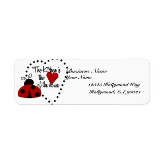 Catering Address Labels