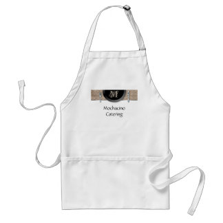 Catering Apron Restaurant Beige Place Setting