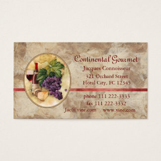 Catering Business Business Card