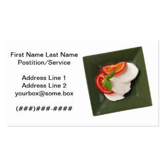 Catering Double-Sided Standard Business Cards (Pack Of 100)
