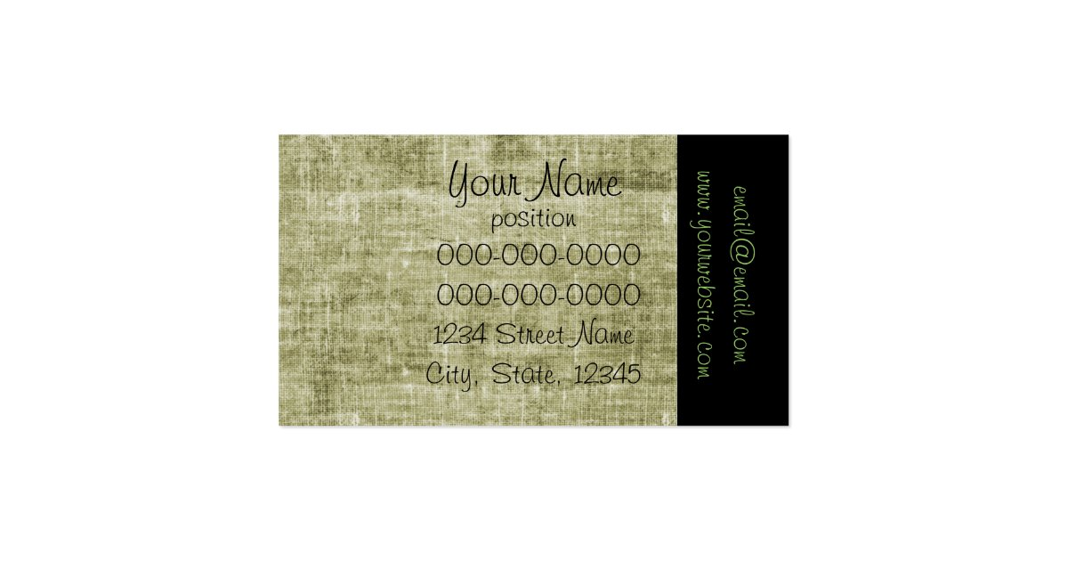Catering business card template zazzle for Catering business cards samples