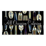 Catering Chef Wedding Planner Food Restaurant Business Card Template