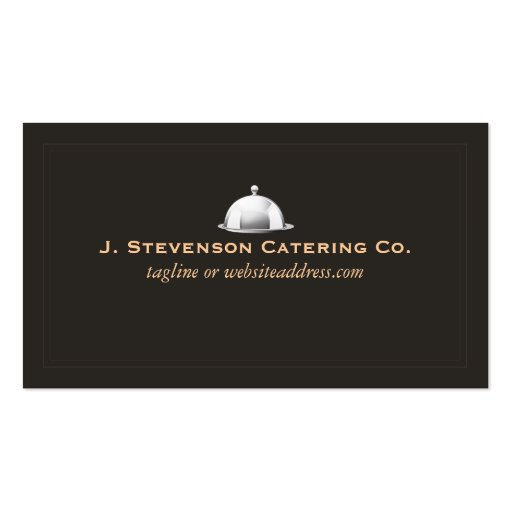 Personal Chef Fine Catering Cater Double-Sided Standard ...