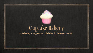 Pastry chef business cards zazzle catering cupcake bakery pastry chef business card colourmoves