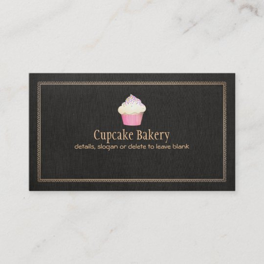 Catering cupcake bakery pastry chef business card zazzle catering cupcake bakery pastry chef business card colourmoves