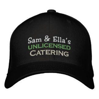 Catering Embroidered Hat