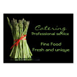 Catering , Fine Food Fresh and ... Business Card Templates