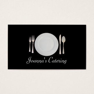 Catering, Food, Restaurant, Chef, Planner Business Card