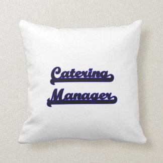 Catering Manager Classic Job Design Pillows