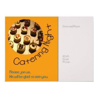 Catering Night invitation
