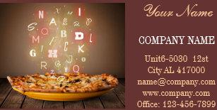 Deli shop food service business cards zazzle catering service deli shop italian food pizza business card colourmoves