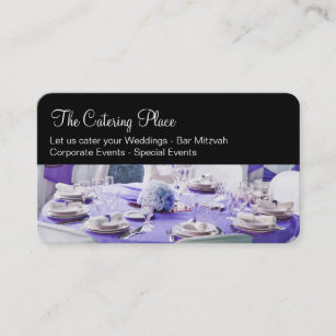Catering service business cards templates zazzle catering services businesscards business card colourmoves