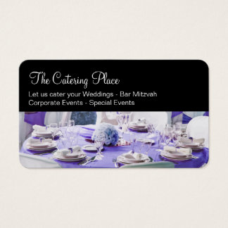 Catering Services Businesscards Business Card