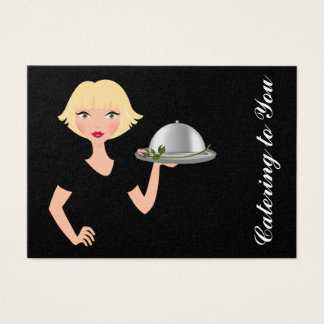 Catering to You - An Elegant Affair - SRF Business Card