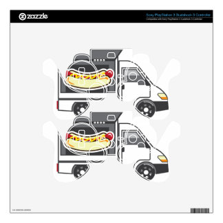 Catering Van Food Truck Decal For PS3 Controller