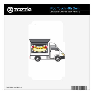 Catering Van Food Truck iPod Touch 4G Skin
