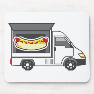 Catering Van Food Truck Mouse Pad