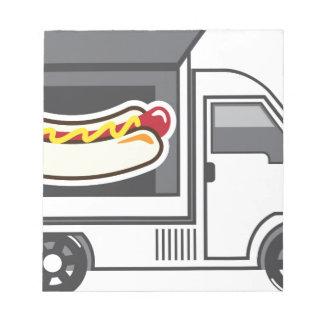 Catering Van Food Truck Notepad