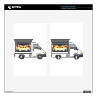 Catering Van Food Truck Skin For Kindle Fire