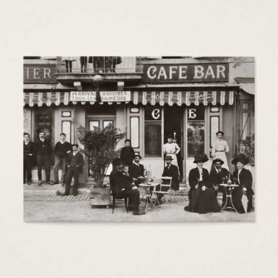 Catering vintage french cafe business card zazzle catering vintage french cafe business card reheart Gallery