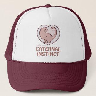 Caternal Instinct Trucker Hat
